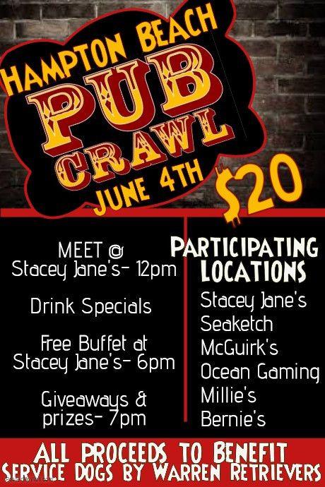 pub crawl bar flyer template | PosterMyWall