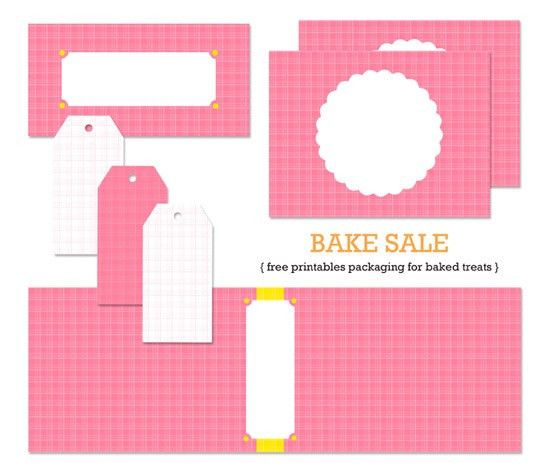 bake sale tags 2 inch | Crafts | Pinterest | Bake sale, Sandwich ...