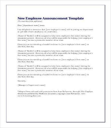 sample letter of announcement of employee resignation. employee ...