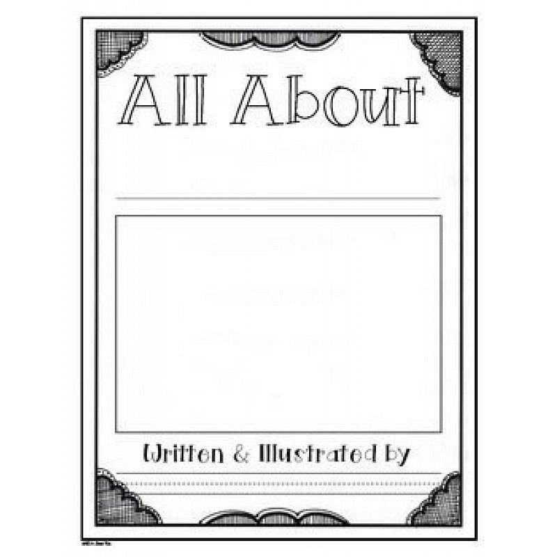 Workshop: All-About Book Template for 1st and 2nd Grade