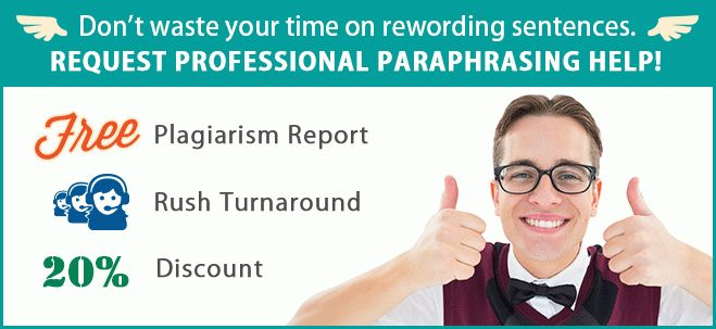 Examples Of Paraphrasing Sentences That Work For You | Paraphrase ...