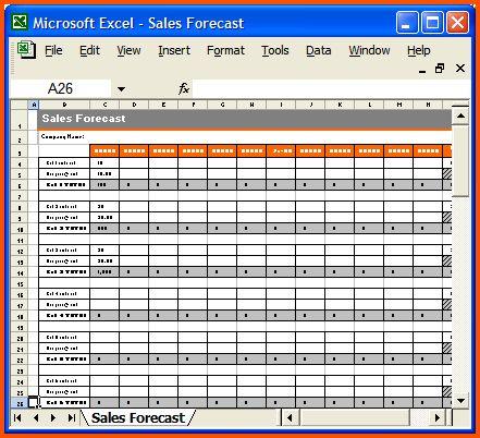 7+ sales plan template | Survey Template Words