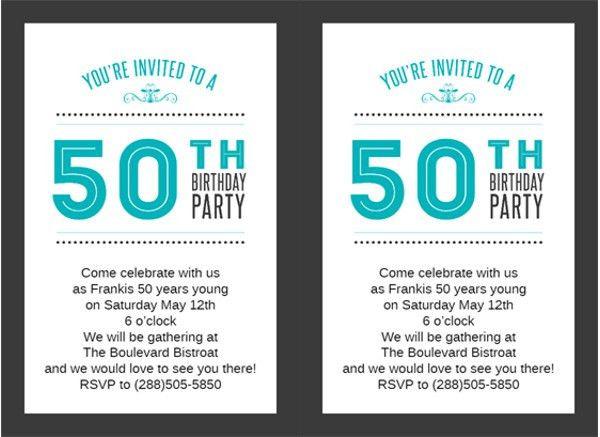 55+ Birthday Invitation Templates | Free & Premium Templates
