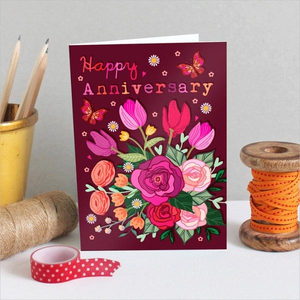 20+ Happy Anniversary Cards - Free PSD, Vector AI, EPS Format ...