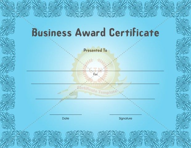 Professional Business Certificate Template Examples : Thogati