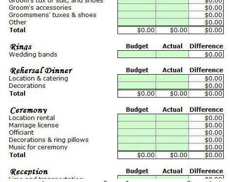 The 25+ best Wedding budget templates ideas on Pinterest | Wedding ...