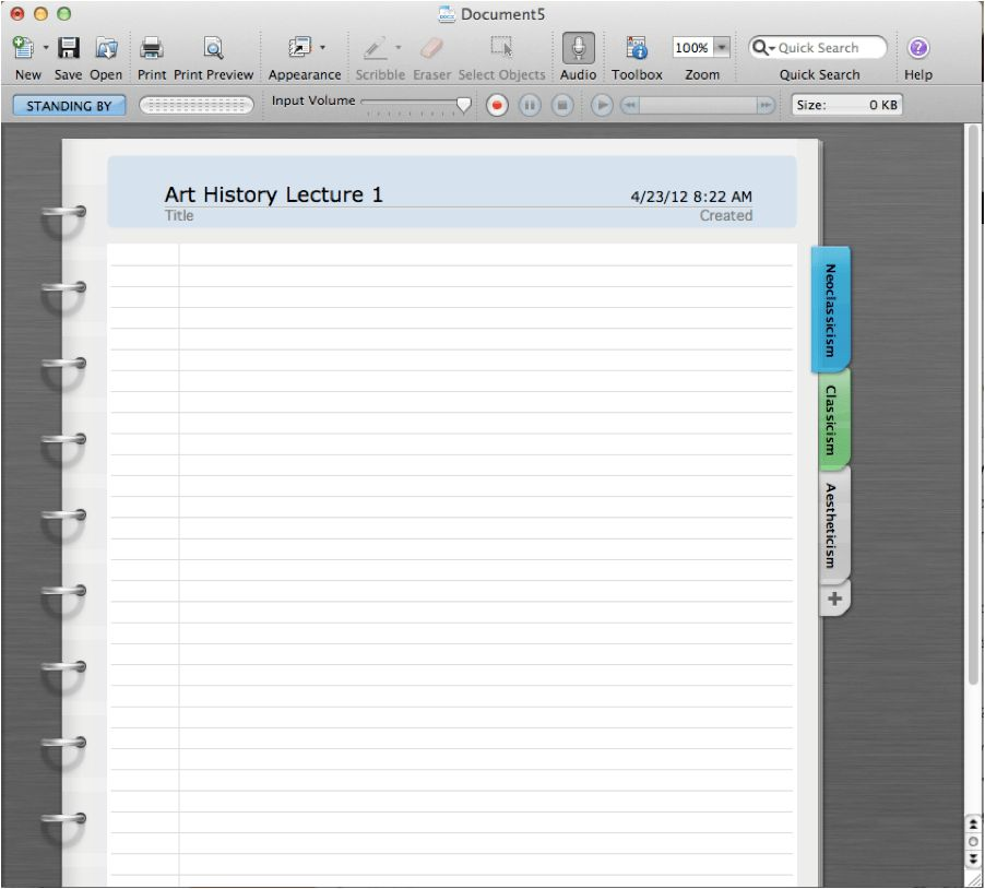 A Note Taking Upgrade for Macs | Knetbooks Blog