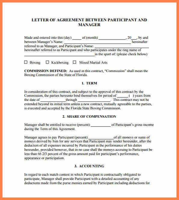 10+ letter of agreement template between two parties | Purchase ...