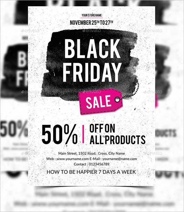 20+ Black / Dark Flyer Templates - Free PSD, EPS, AI, InDesign ...