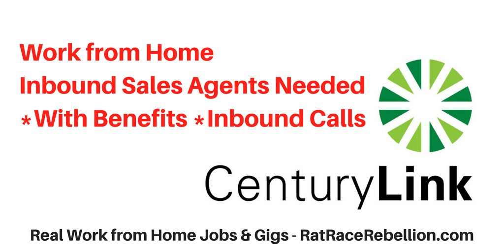 Work from Home Agents for CenturyLink - Real Work From Home Jobs ...