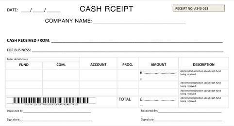 5+ Cash Payment Receipt Templates - Word Excel Templates