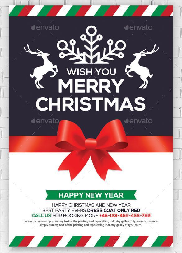 32+ New Year Greeting Card Templates – Free PSD, EPS, Ai ...