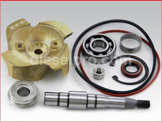 Water Pump Repair Kit for Detroit Diesel 6V92, 8V92   DP 5149407 ...