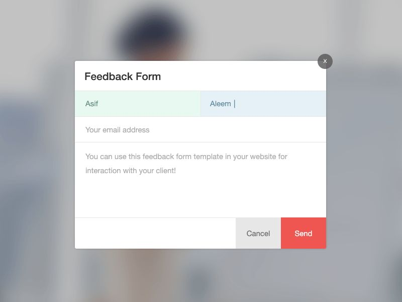 Feedback Form - Freebies Gallery