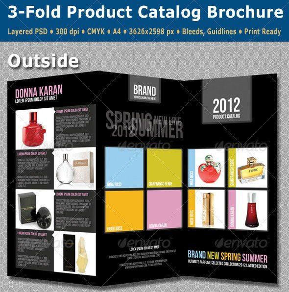 25 PSD Brochure Design Templates   Wakaboom
