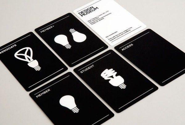 Spin — Design Museum Membership #card in Business Card Design