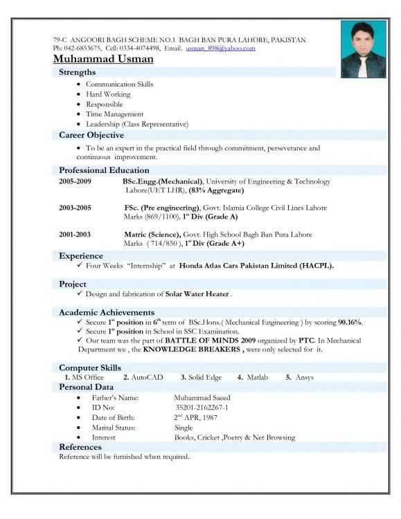 18+ Resume For Students Examples - 15 Must See Student Resume Pins ...