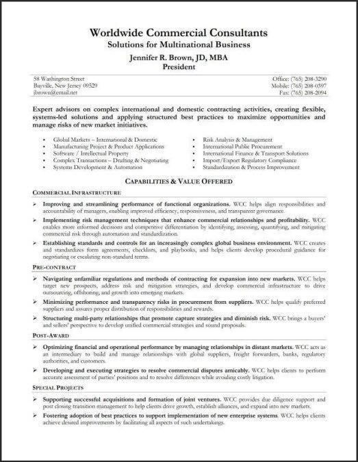 resume introduction example with summary qualification. examples ...