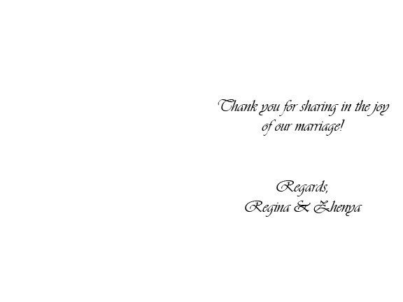 Thank You Card: Funny Thank You Card Sample Heartfelt Thank You ...