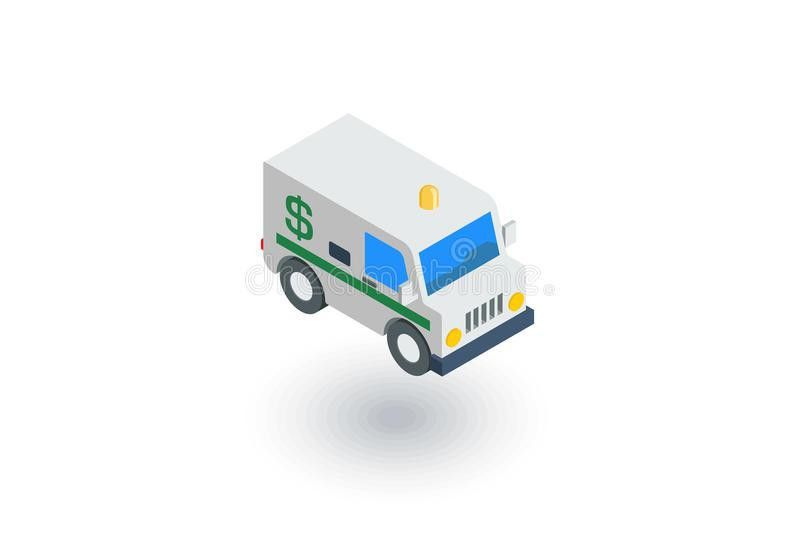 Encashment Service Car, Bank Collector Van, Money Delivery ...