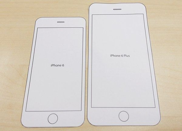 Print this paper template to find out how each iPhone 6 model fits ...