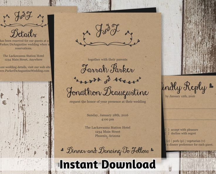34 best Wedding Invitations by MP images on Pinterest | Wedding ...