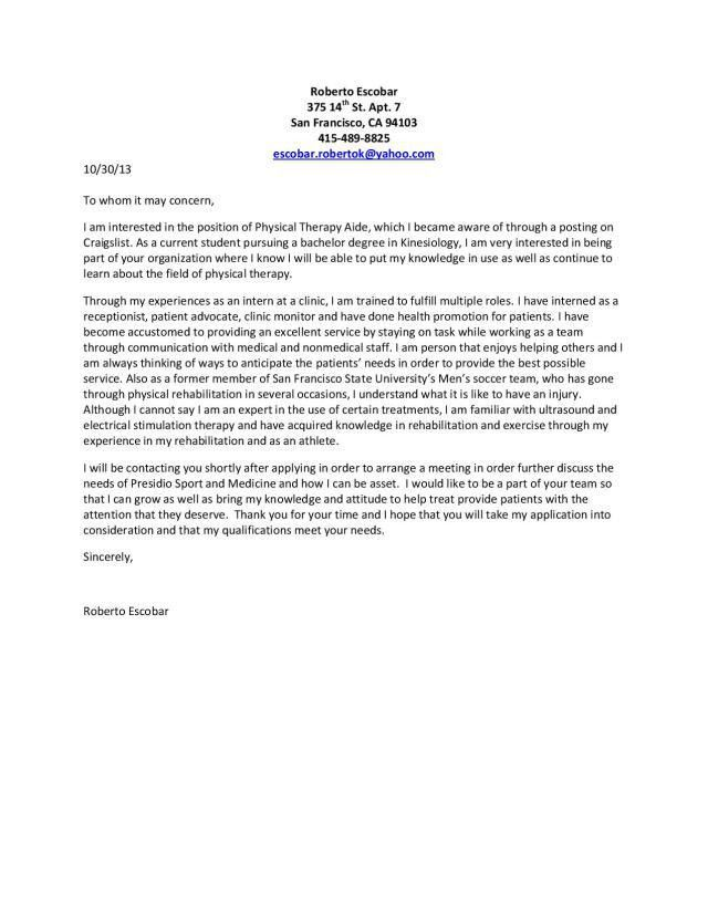 Awesome I 864 Cover Letter 84 In Cover Letter Sample For Computer ...