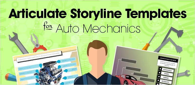 Articulate Storyline Templates for Auto Mechanics | eLearning Brothers