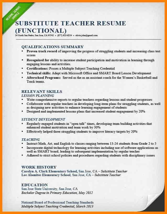 6+ teachers job resume format | appeal leter
