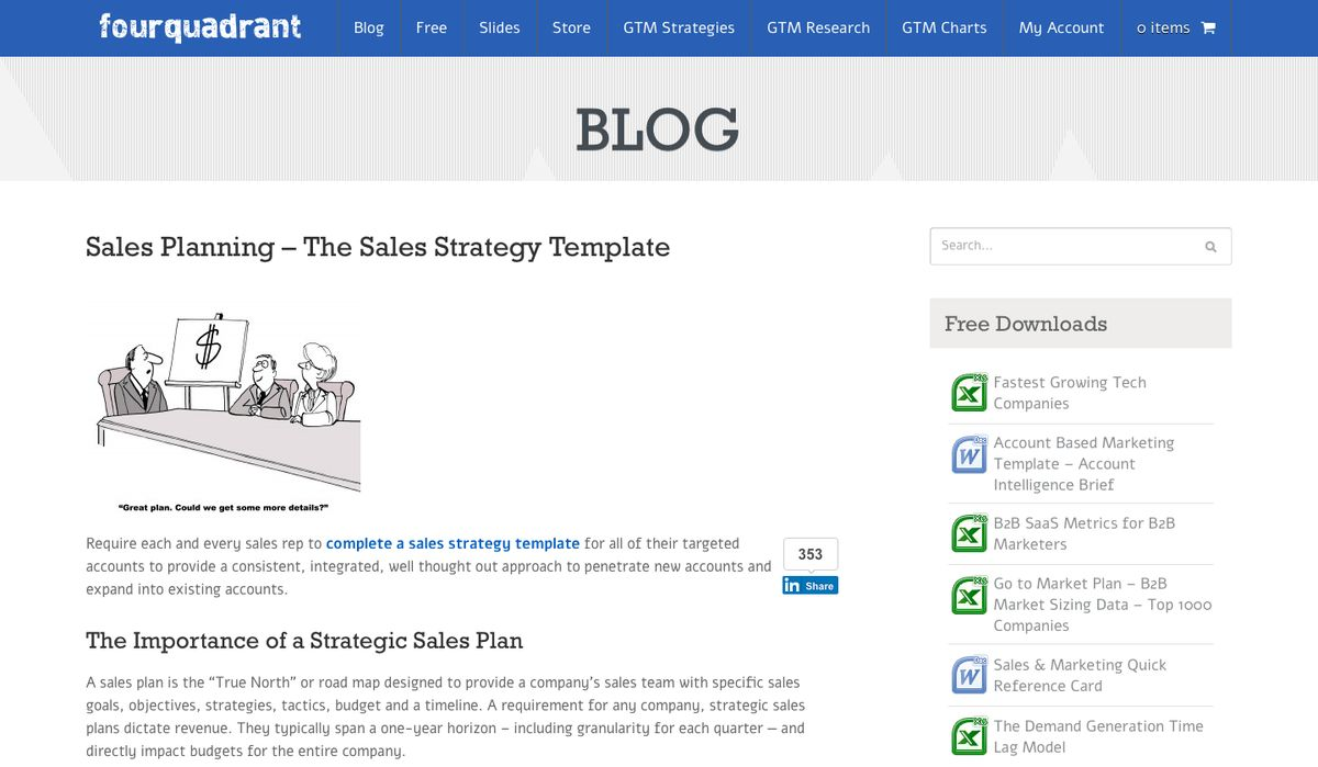 7 Sales Strategy Templates You Wish You Had Earlier!