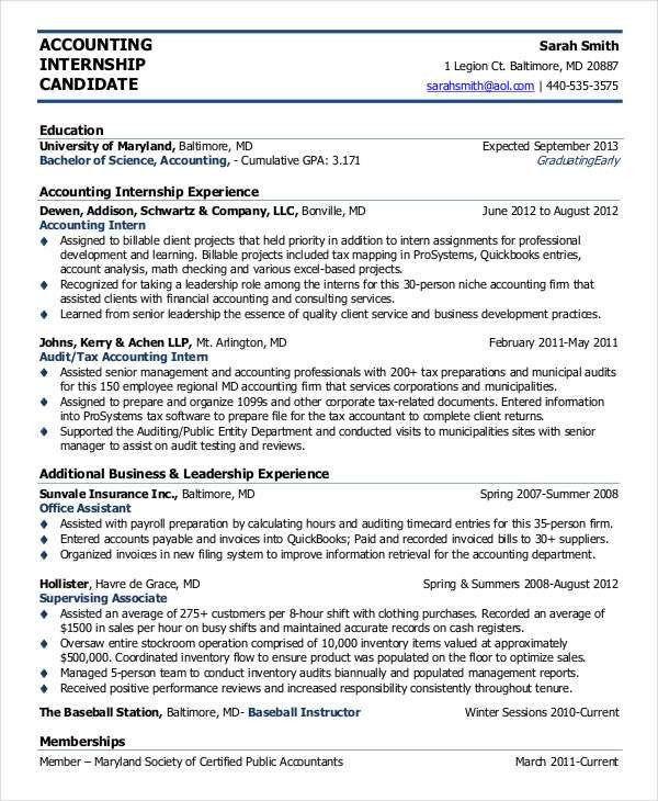 38+ Sample Resume Templates | Free & Premium Templates