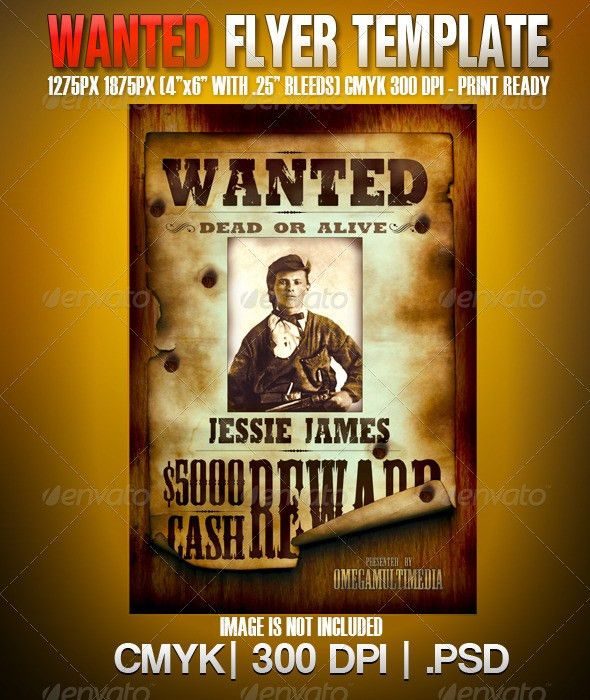 Most Wanted Poster Template | Systems | Pinterest