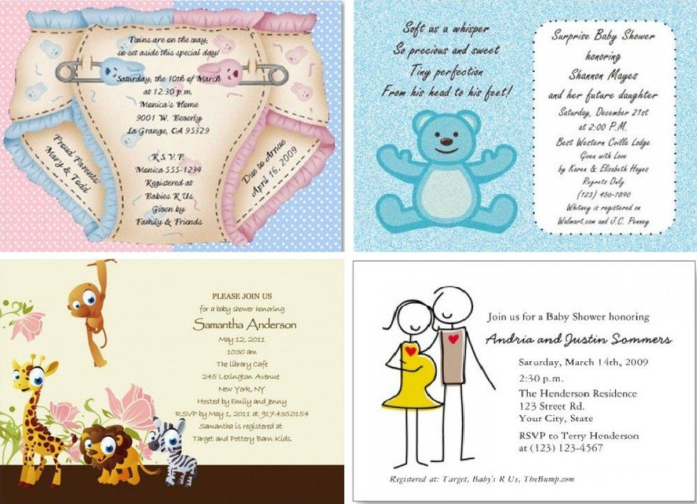 Free Online Baby Shower Invitations – gangcraft.net