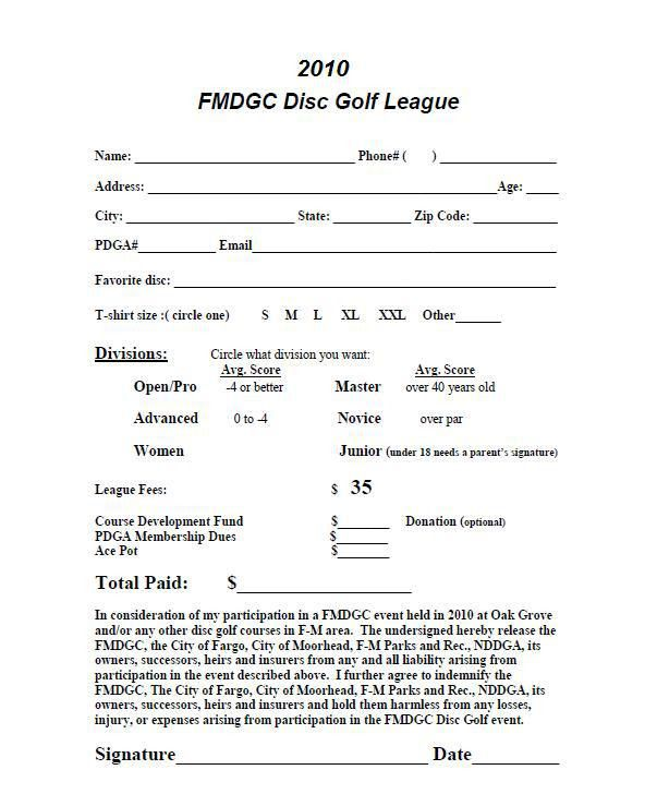 Frolfware Bag Tag League / FMDGC