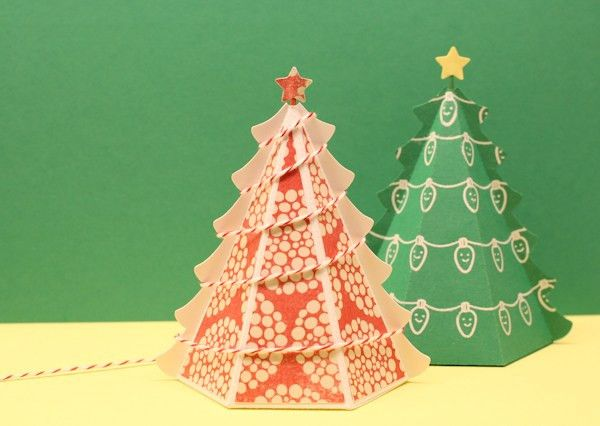 Free 3D Christmas Tree Templates (PDF & .studio Versions) | Waffle ...