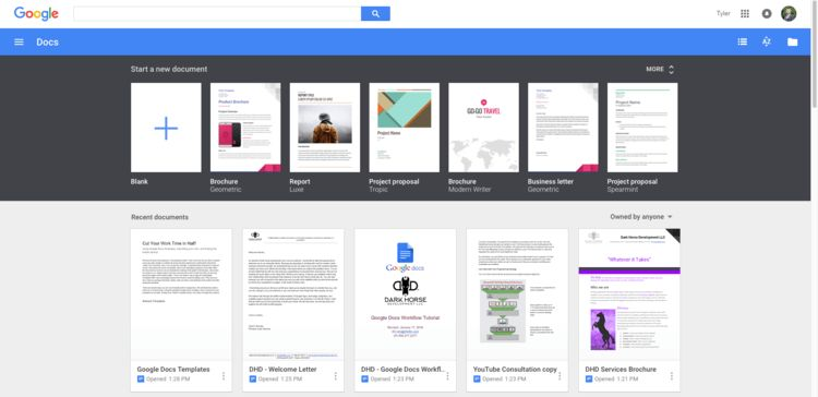 Cut Your Work Time in Half! Using Google Docs Templates... | Tyler ...