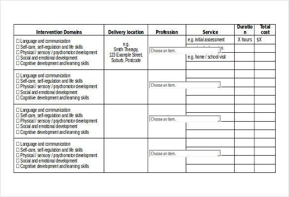 11+ Free Microsoft Word Schedule Templates | Free & Premium Templates