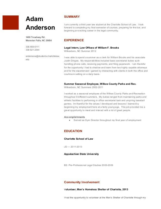 Standard Resume | free excel templates
