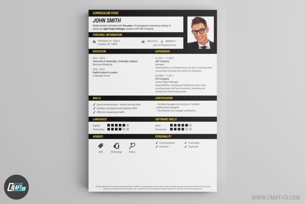 download 35 free creative resume cv templates xdesigns. stunning ...