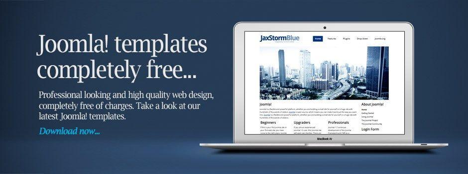 Free Joomla Templates by Hurricane Media - High Quality Web Design