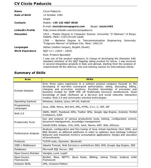 Sample Java Developer Resume. Javascript; 2 Full Stack-Java ...