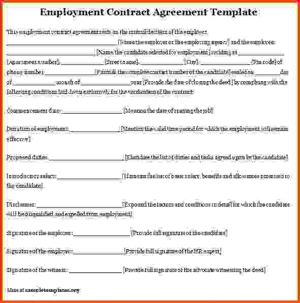 Employee Contract Template.employment Agreement Template 1.png ...