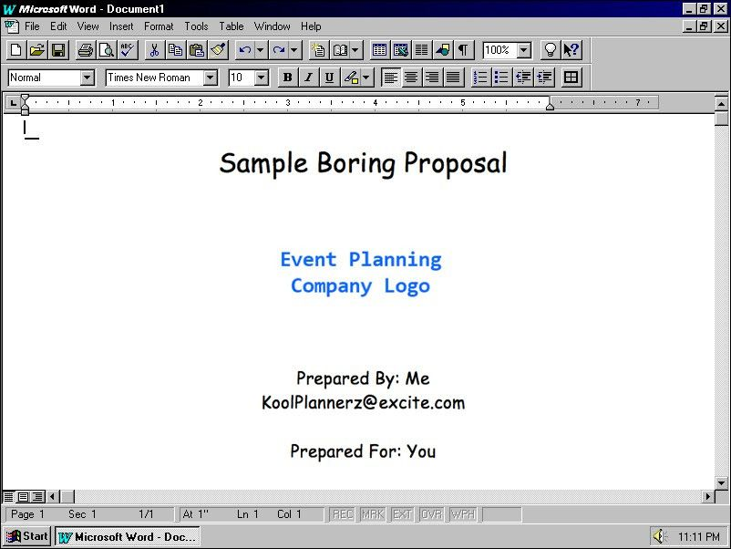 4 Secrets for Writing Great Event Management Proposals | The ...