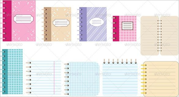 13+ Notebook Paper Templates – Free EPS, PDF, Illustrator Files ...