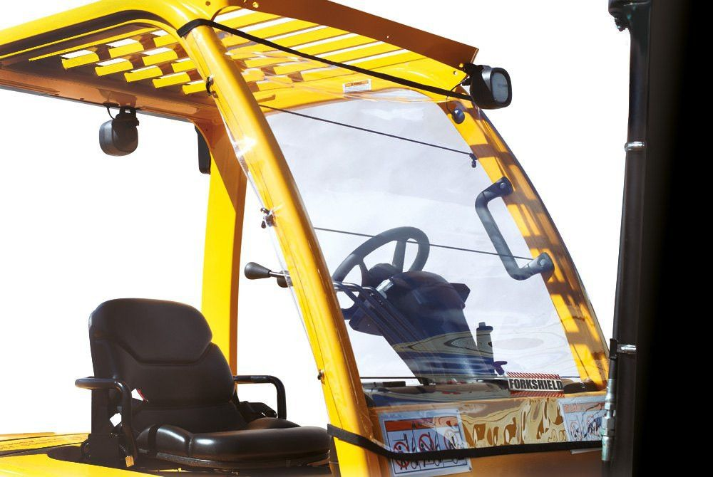 Forkshield™ Forklift Canopy and Windshield Cover