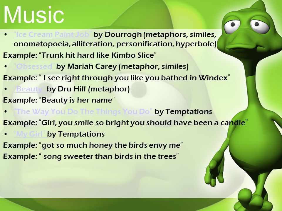 Figurative Language. - ppt download