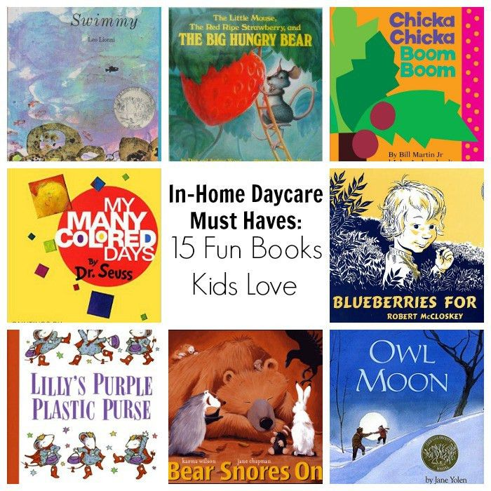 Picture Books for Kids Every Home Daycare Needs - Where ...