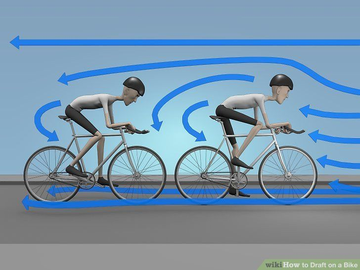 How to Draft on a Bike: 4 Steps (with Pictures) - wikiHow