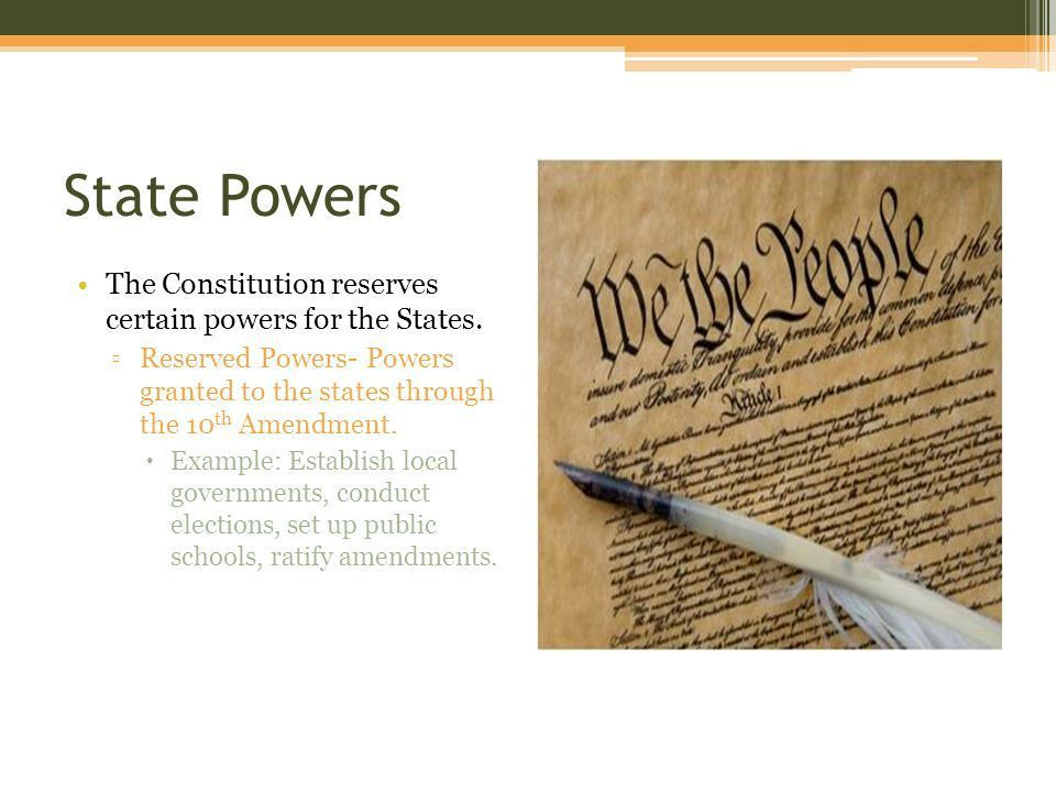 Federalism Chapter ppt download