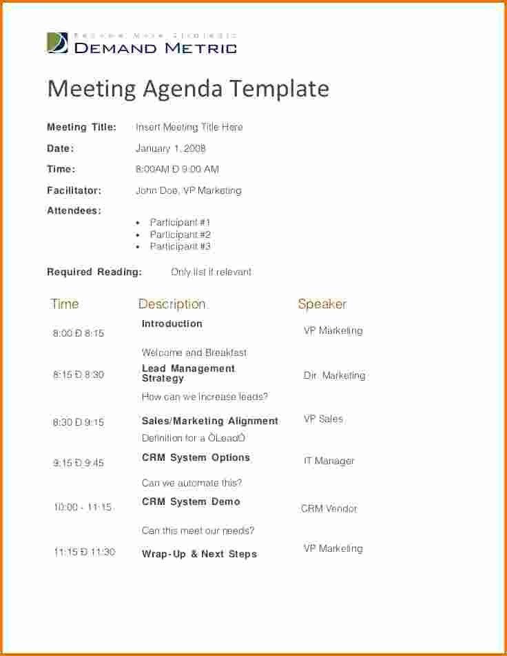5 effective meeting agenda | Divorce Document
